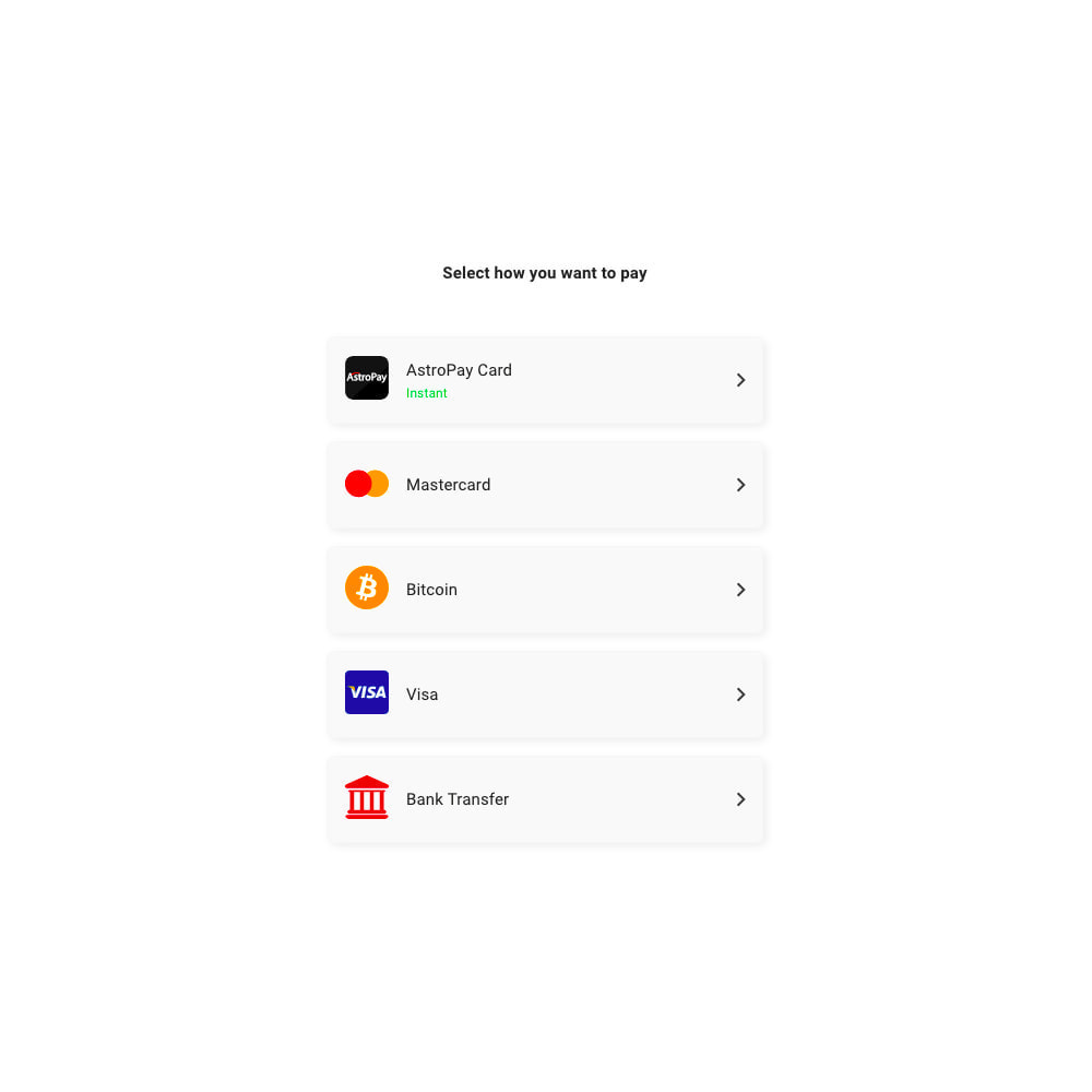 module - Other Payment Methods - AstroPay - 3