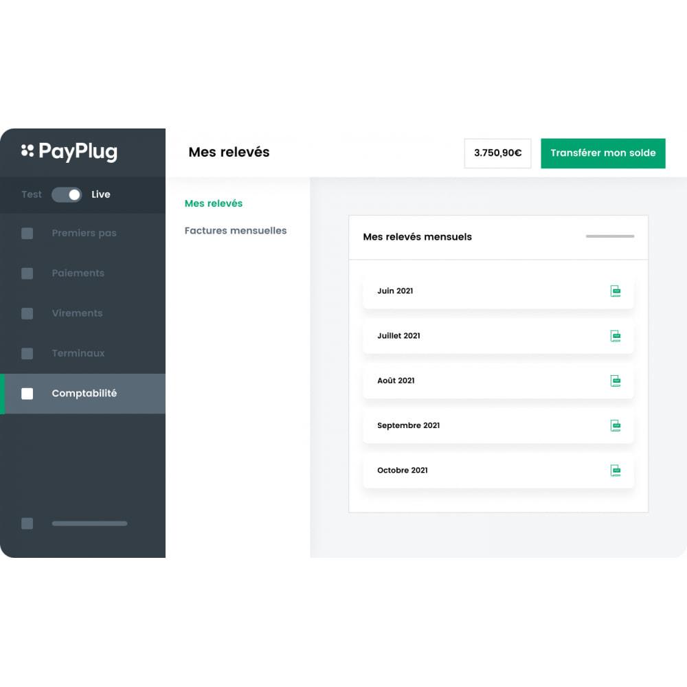 module - Paiement par Carte ou Wallet - PayPlug: Acceptez les paiements là où sont vos clients - 6