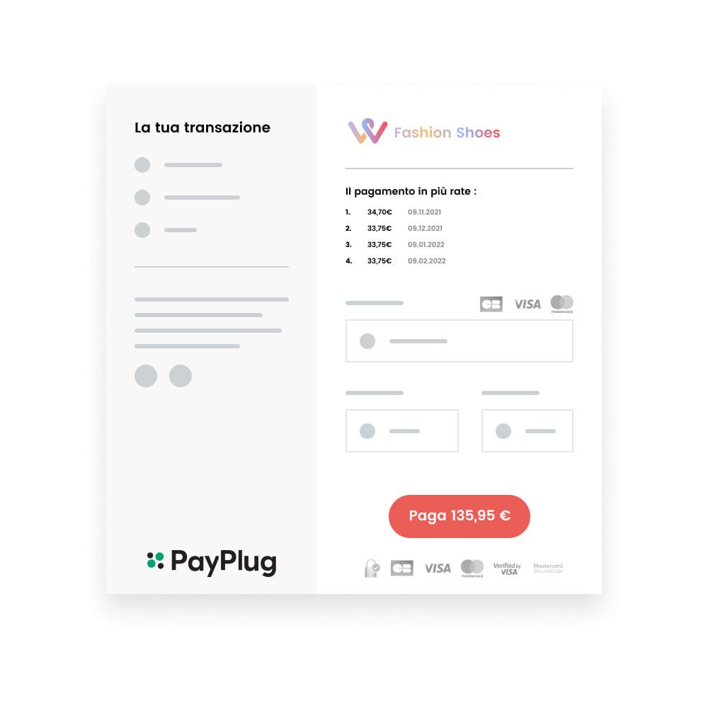 module - Pagamento con Carta di Credito o Wallet - Modulo PayPlug - Accetta i pagamenti ovunque si trovino i tuoi clienti - 8