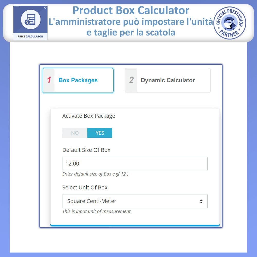 module - Grandezze & Unità di misura - Calcolatore di prezzi dinamico - 15