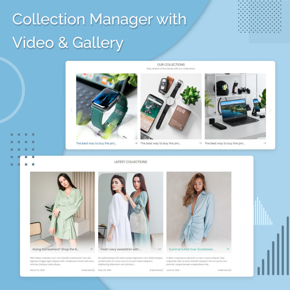 module - Sliders & Galleries - Collection Manager with Video and Gallery - 1