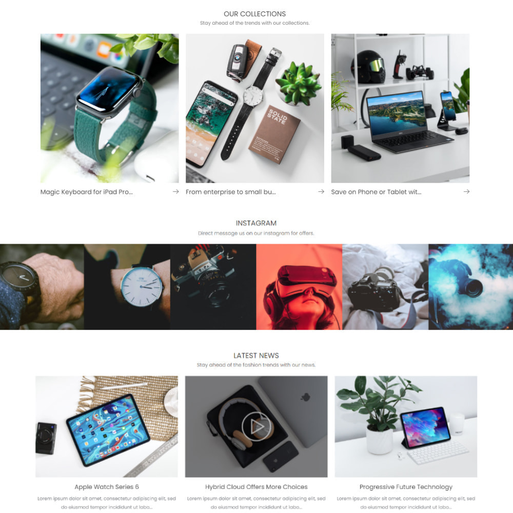 module - Sliders & Galleries - Collection Manager with Video and Gallery - 6