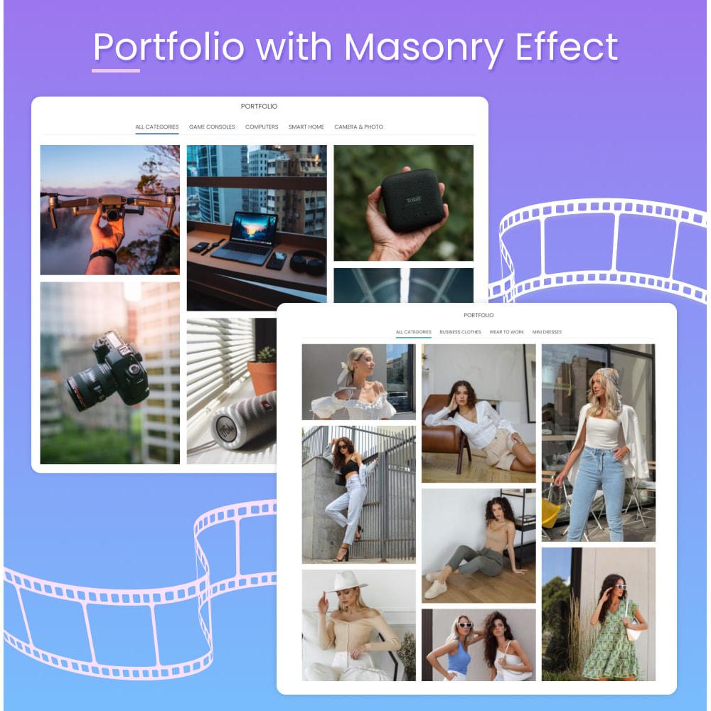 module - Blog, Forum & News - Portfolio Gallery with Masonry Effect - 1