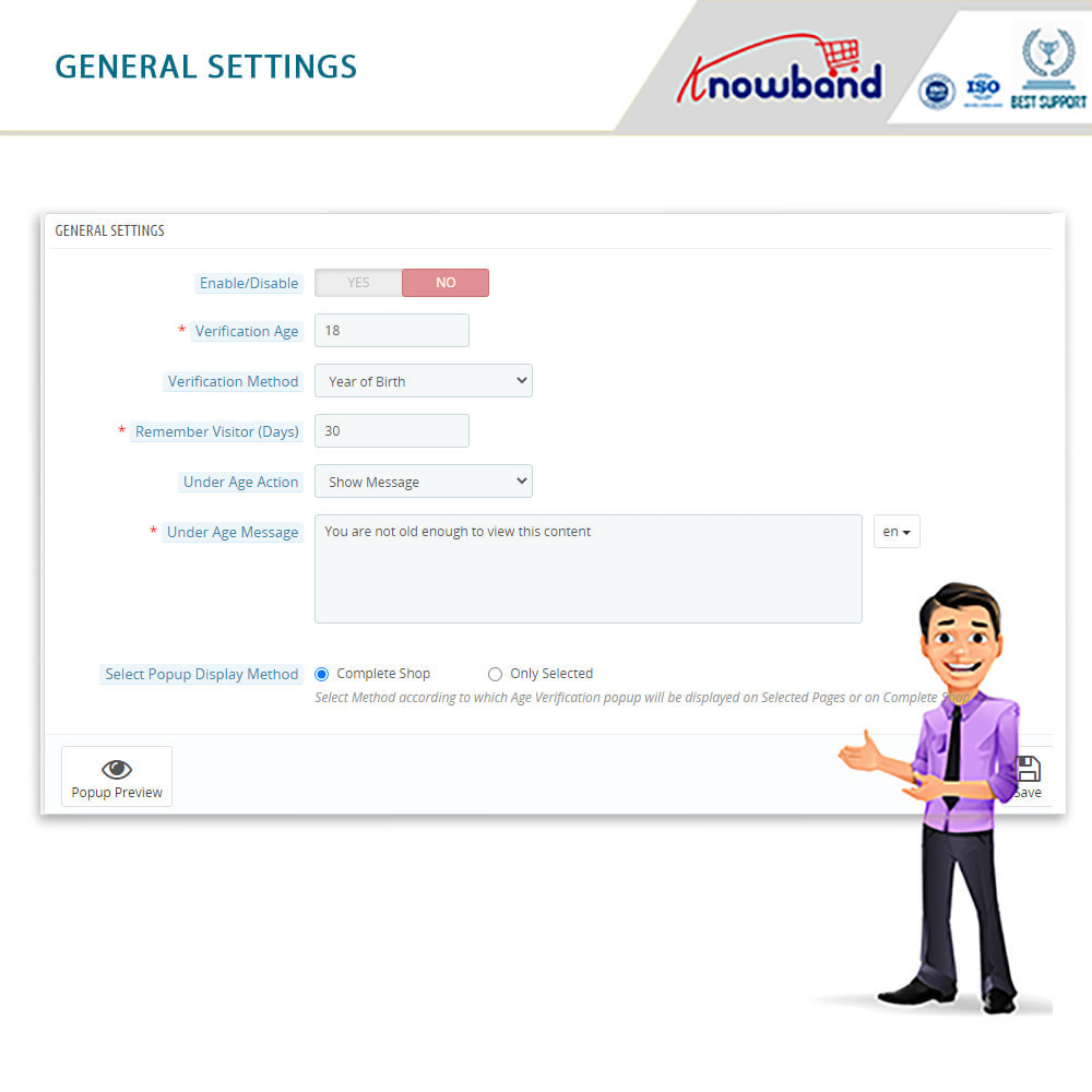 module - Sécurité & Accès - Vérification d'Âge (Age Verification) - 2
