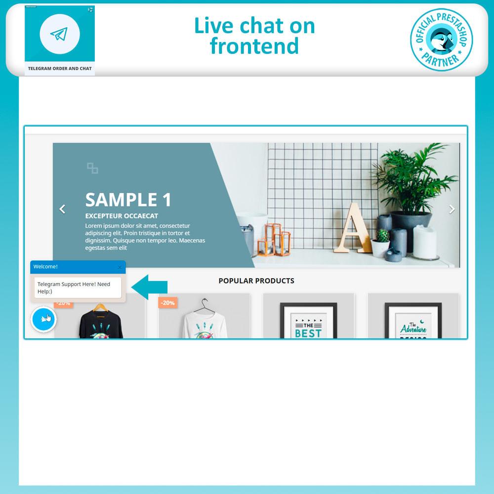 module - Support & Online Chat - Telegram Order and Telegram Chat - 2