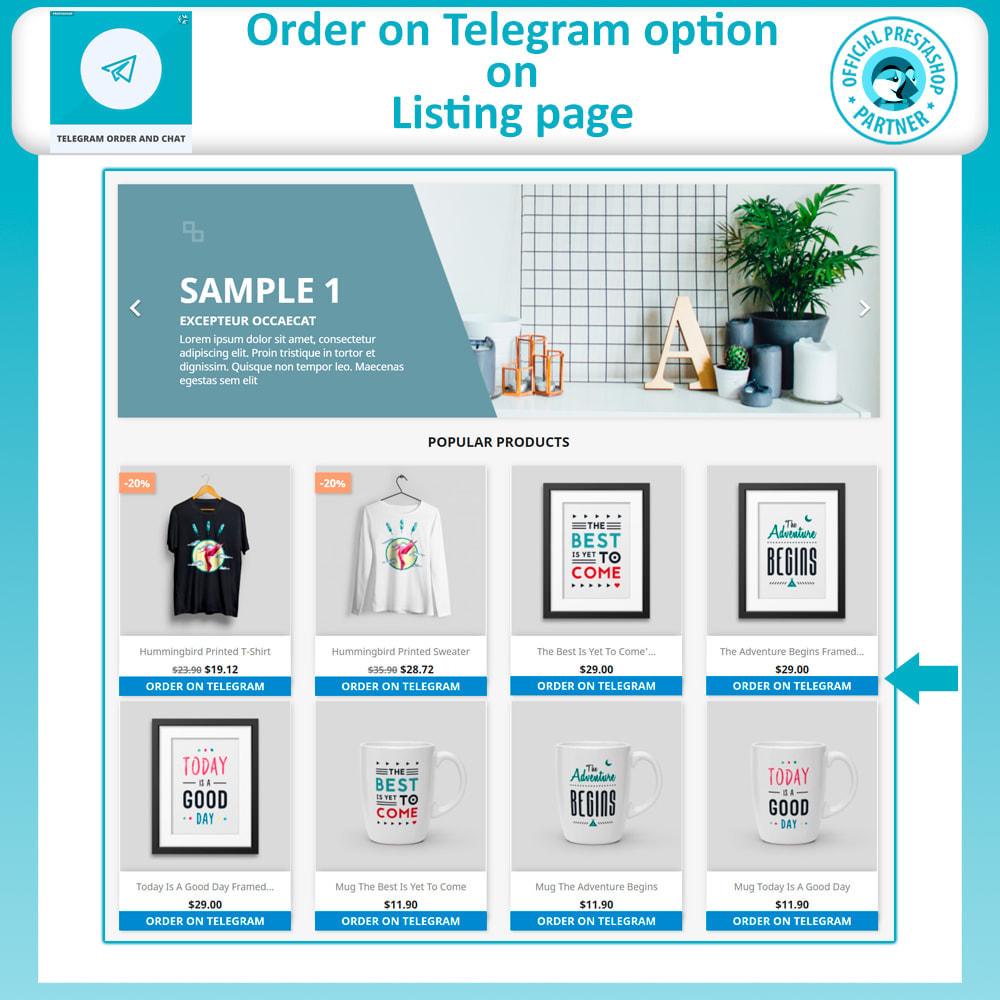 module - Support & Online Chat - Telegram Order and Telegram Chat - 3