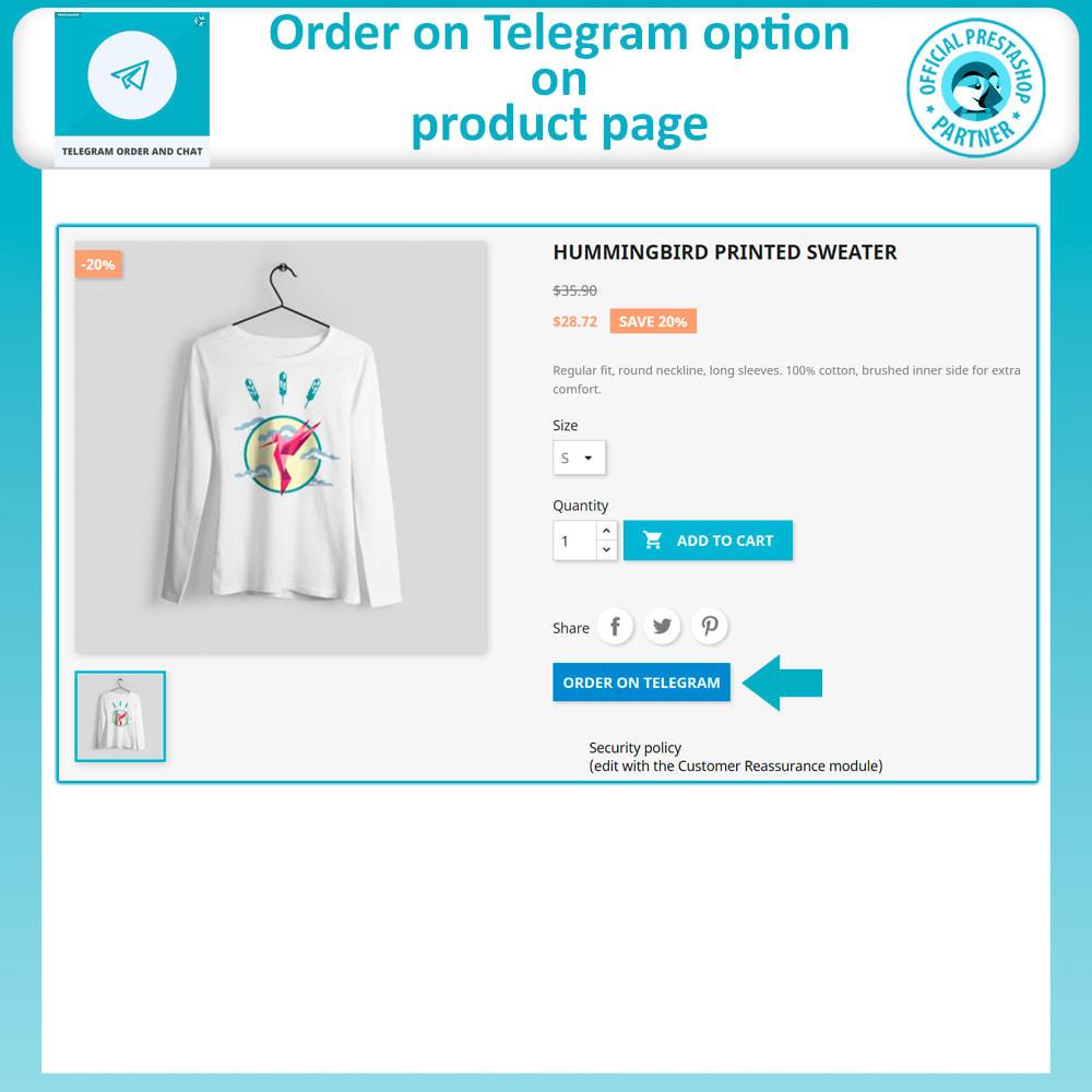 module - Support & Online Chat - Telegram Order and Telegram Chat - 4