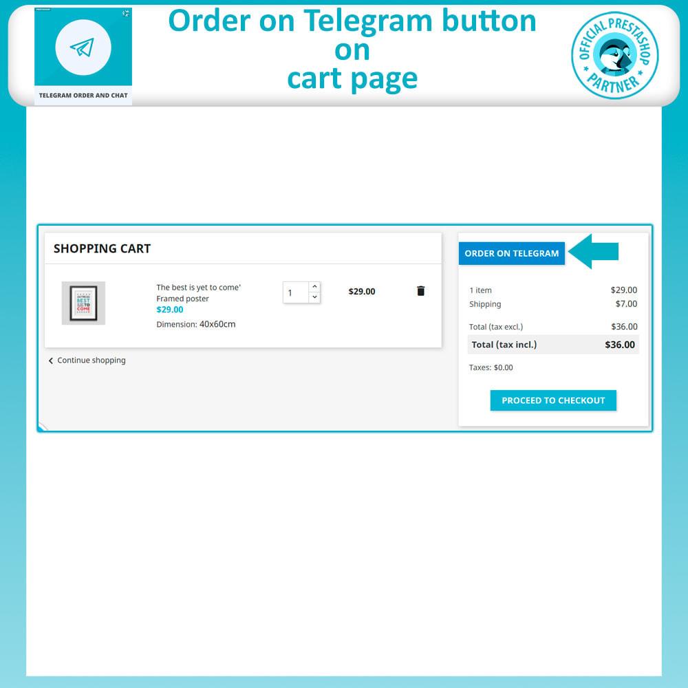 module - Support & Online Chat - Telegram Order and Telegram Chat - 5