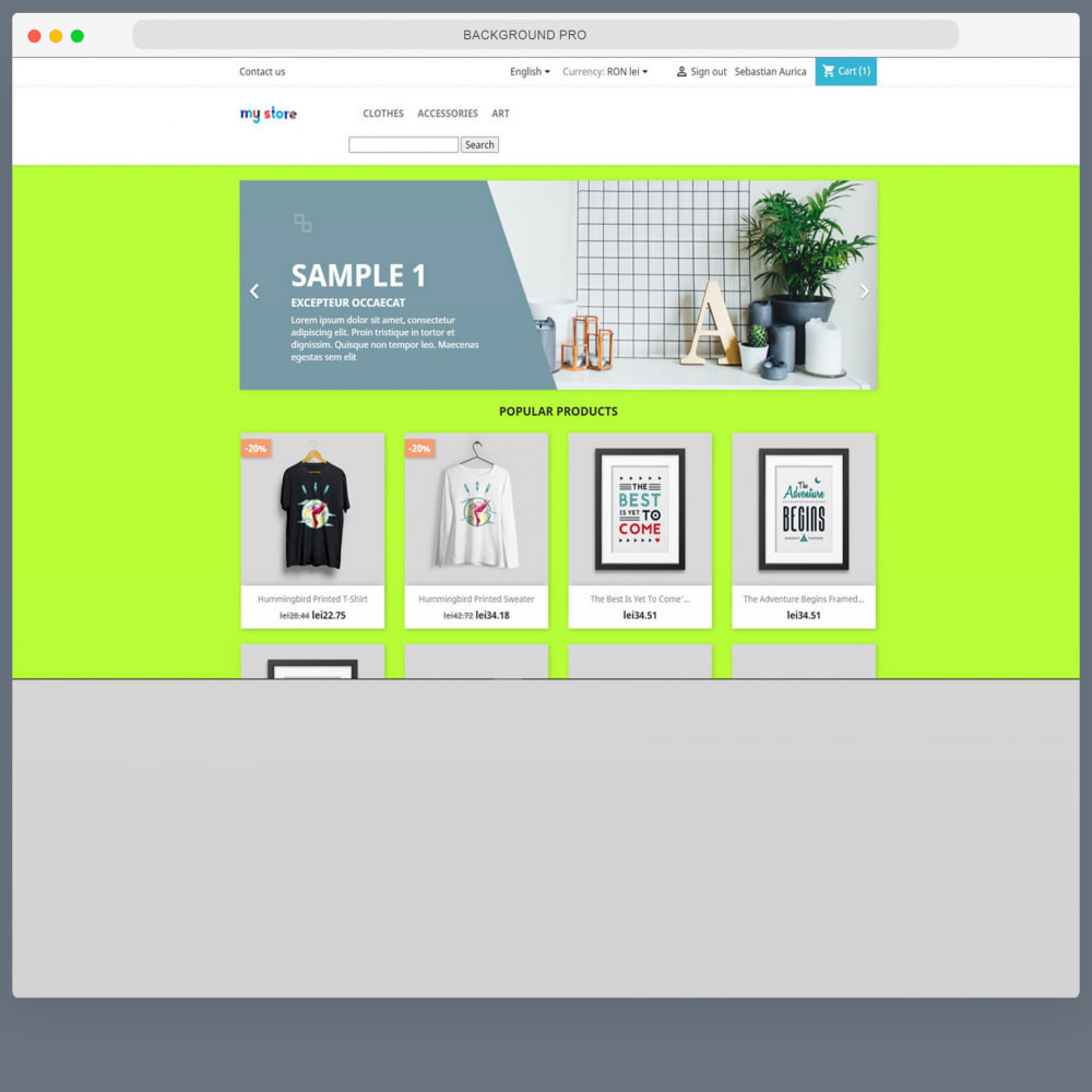 module - Page Customization - Background PRO - Modern Multi Backgrounds - 9