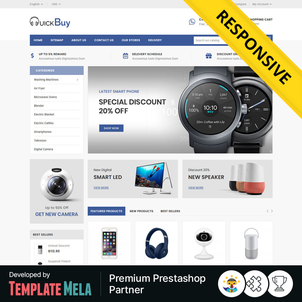 theme - Электроника и компьютеры - Quick Buy - Electronic Store - 1