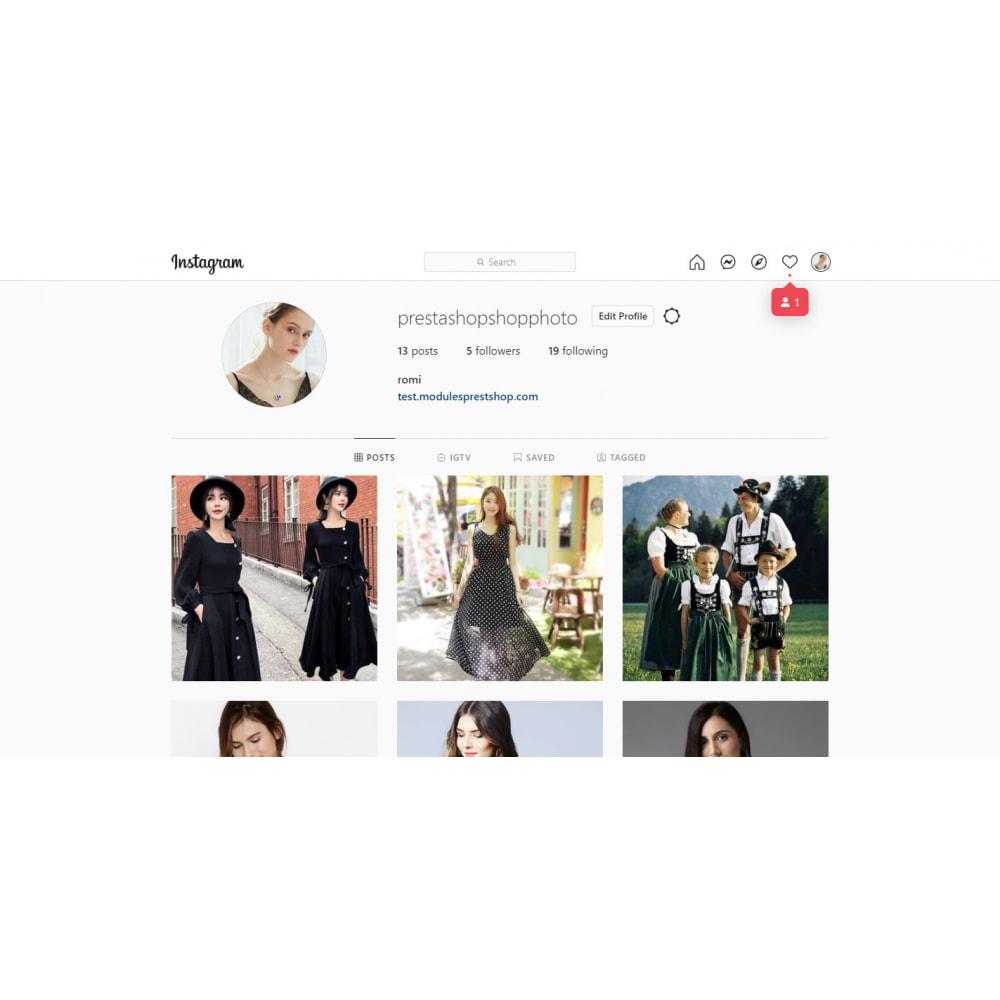 module - Social Widget - Instagram Feed Slider & Carousel with NEW API - 7
