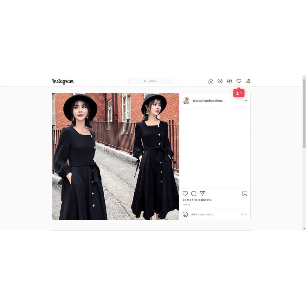 module - Social Widget - Instagram Feed Slider & Carousel with NEW API - 8