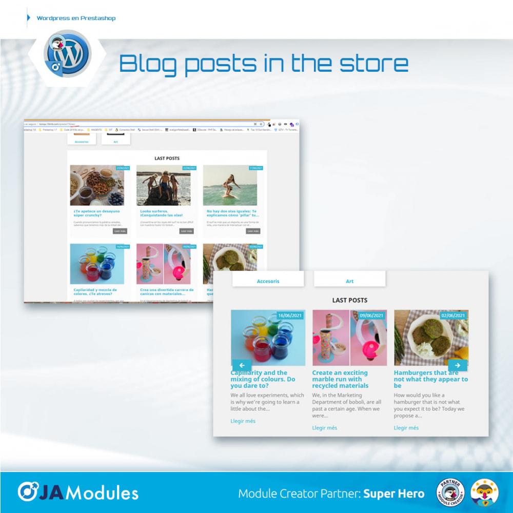module - Blog, Forum & News - WordPress Inside - 5
