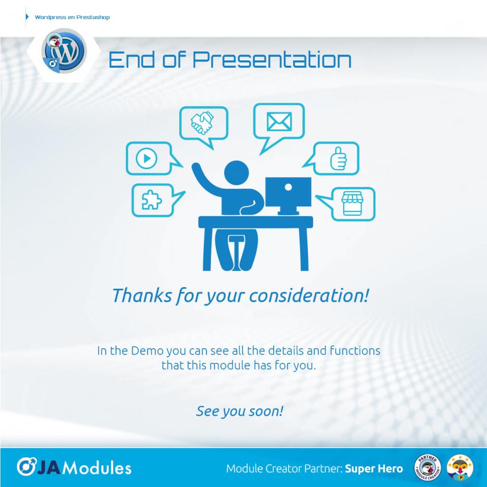 module - Blog, Forum & News - WordPress Inside - 6