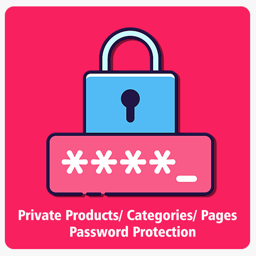 module - Security & Access - Private Products/Categories/Pages- Password Protection - 1
