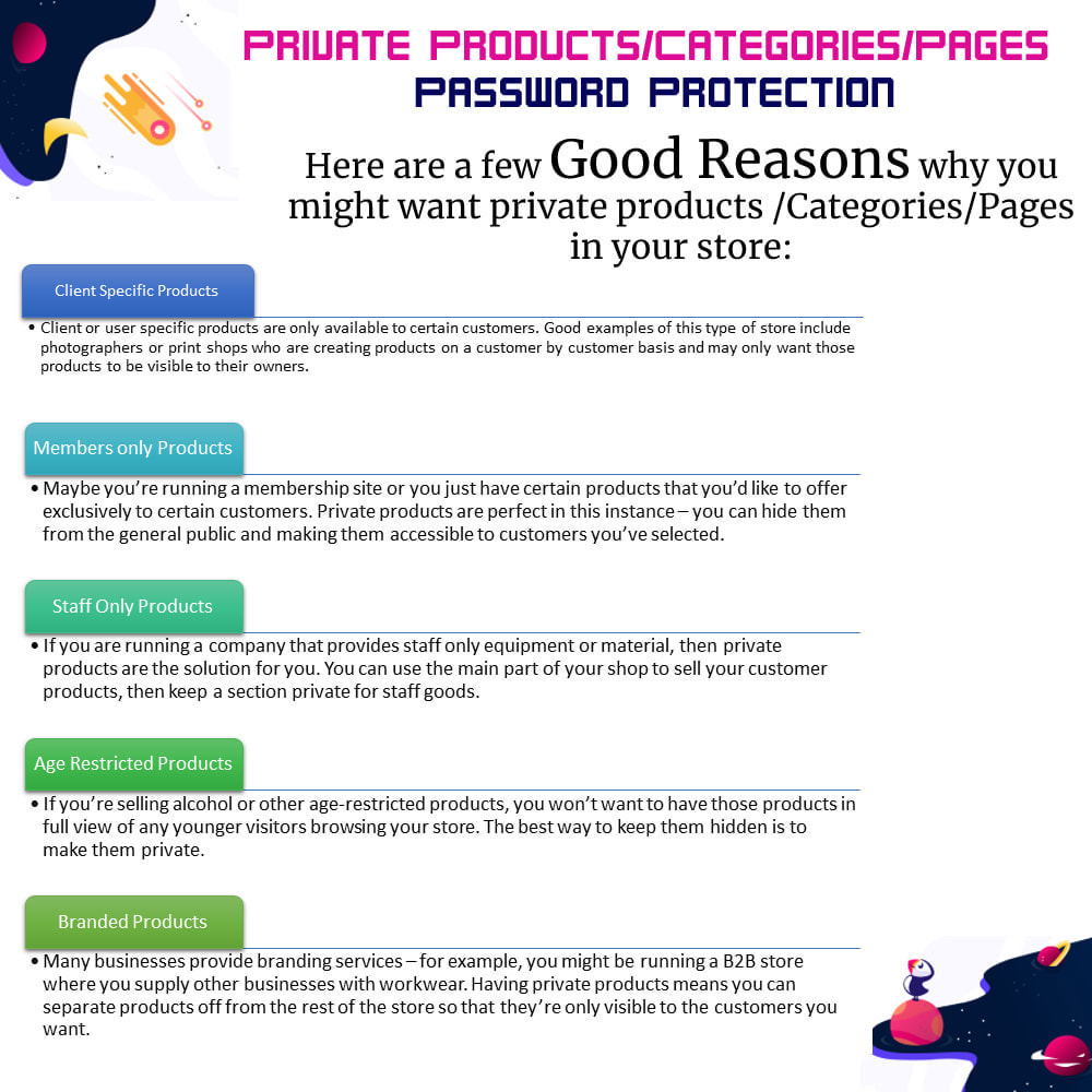 module - Security & Access - Private Products/Categories/Pages- Password Protection - 2