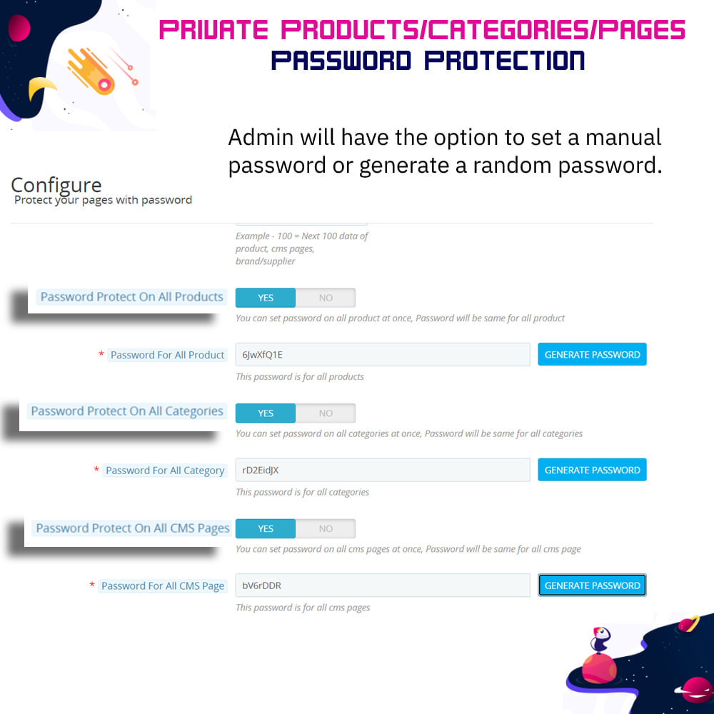 module - Security & Access - Private Products/Categories/Pages- Password Protection - 6