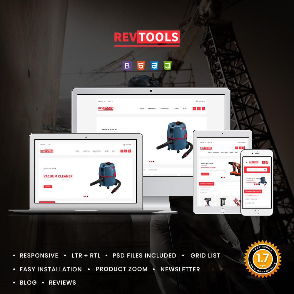 theme - Electronics & Computers - RevTools Tools Store - 1