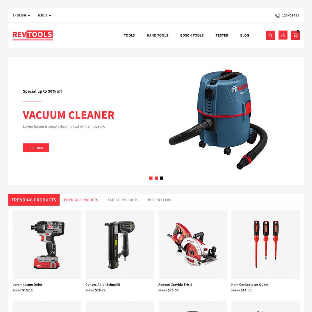theme - Electronics & Computers - RevTools Tools Store - 2