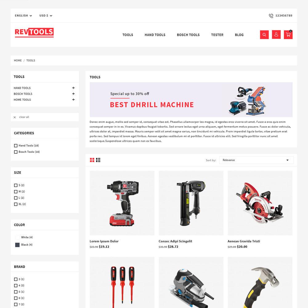 theme - Electronics & Computers - RevTools Tools Store - 3