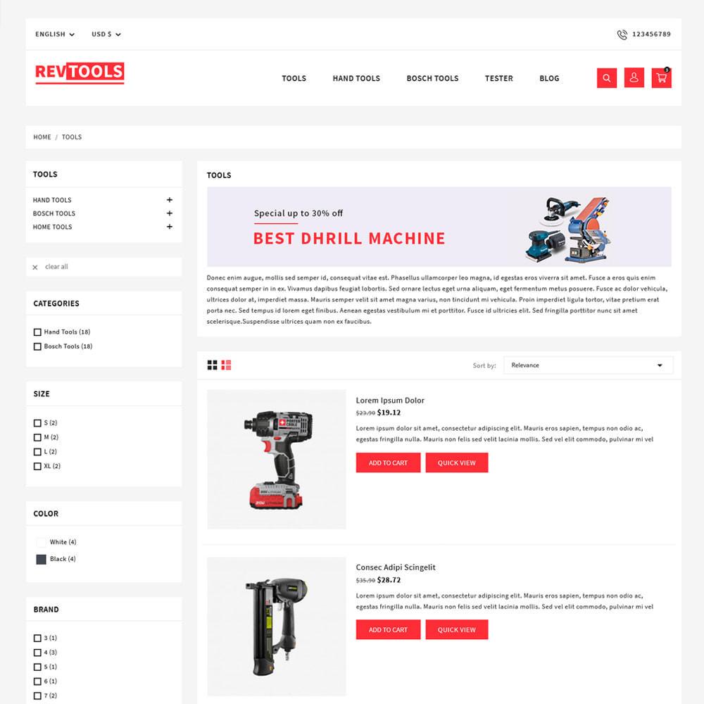 theme - Electronics & Computers - RevTools Tools Store - 4
