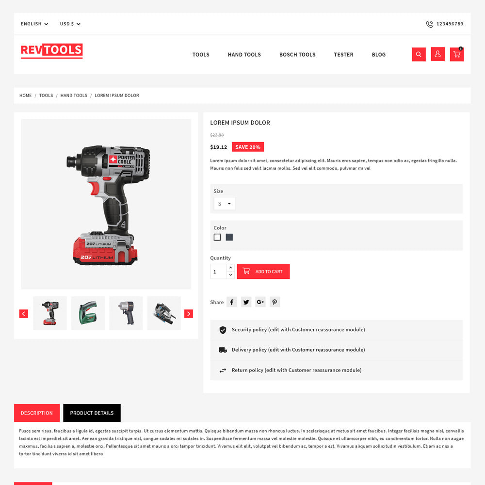 theme - Electronics & Computers - RevTools Tools Store - 5