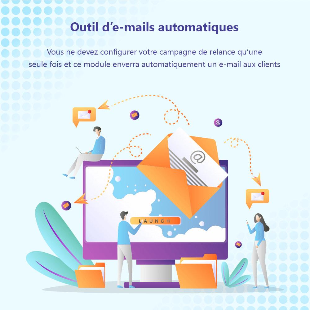 module - Remarketing & Paniers Abandonnés - Relance des paniers abandonnés + E-mails automatiques - 4