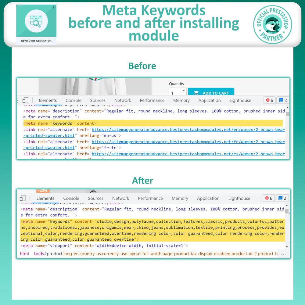 module - SEO (Posicionamiento en buscadores) - Keyword Generator Advance - 2