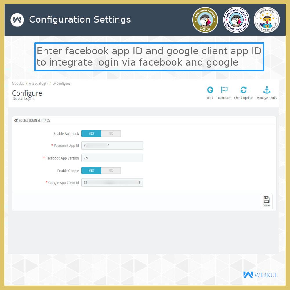 module - Przyciski do logowania  & Connect - Social Login | One Click Registration/Sign in - 4