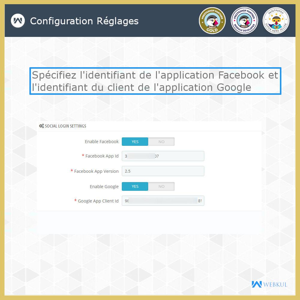 module - Boutons Login & Connect - Social Connexion | Inscription/connexion en un clic - 4