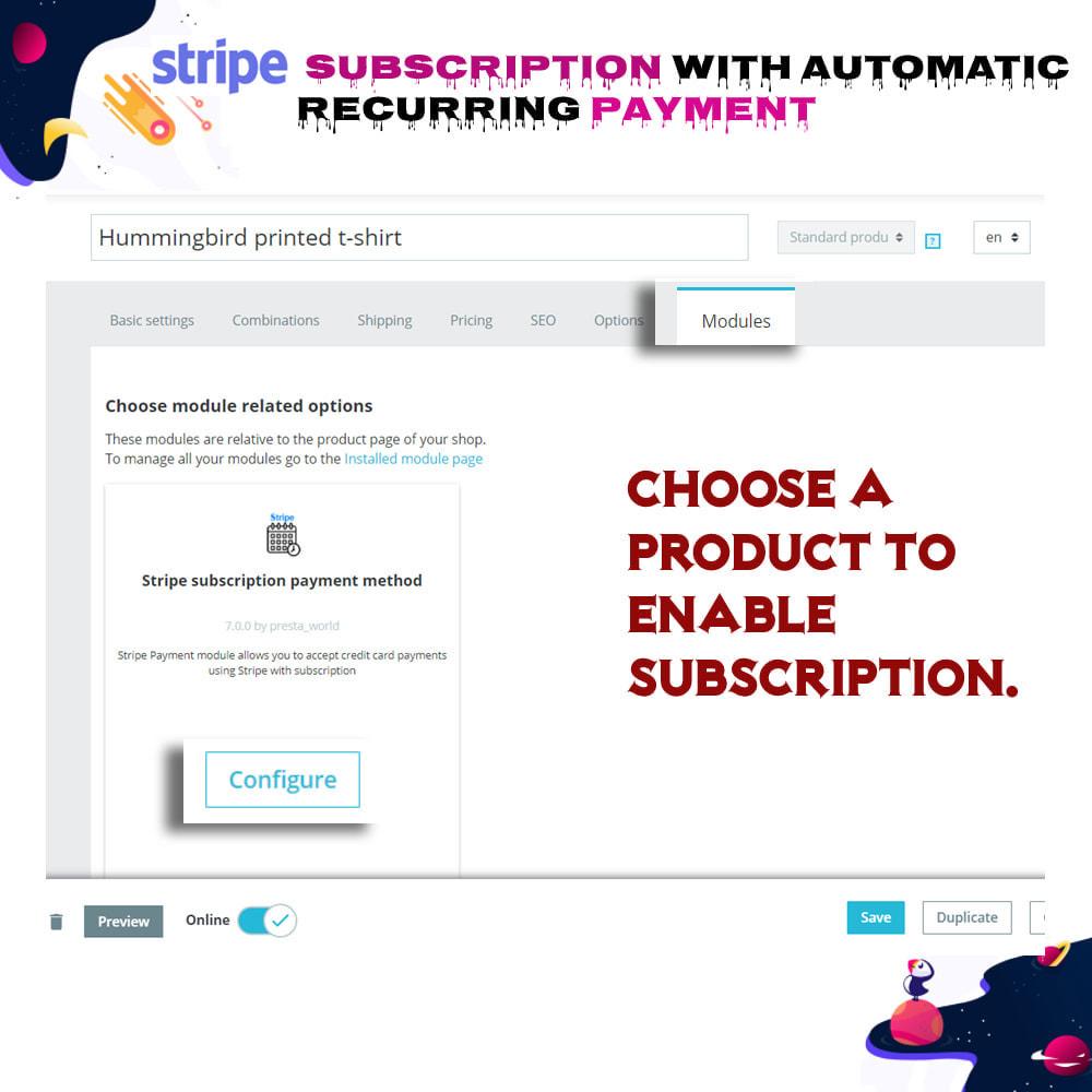 module - Inne środki płatności - Stripe Subscription with Automatic Recurring Payment - 5