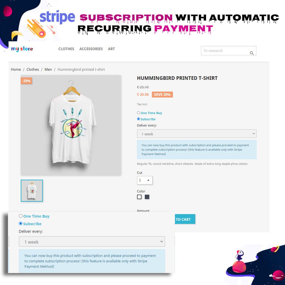 module - Inne środki płatności - Stripe Subscription with Automatic Recurring Payment - 7