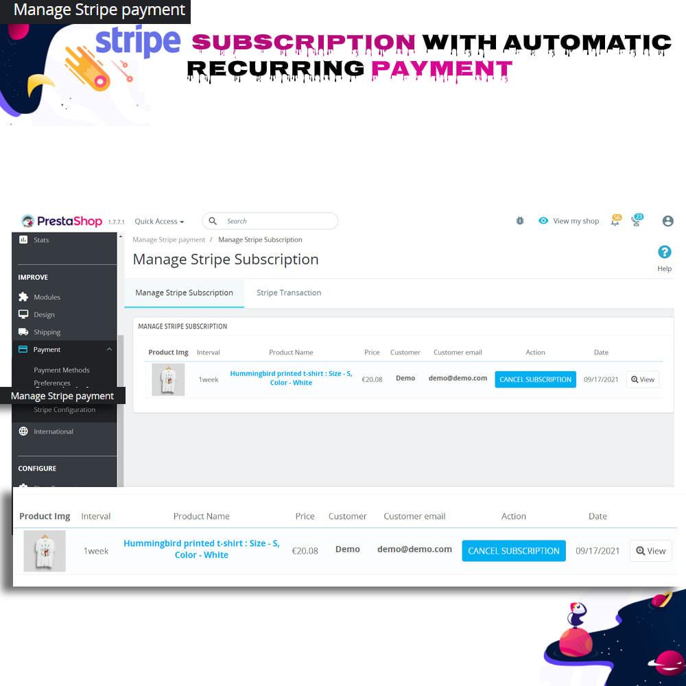 module - Inne środki płatności - Stripe Subscription with Automatic Recurring Payment - 11