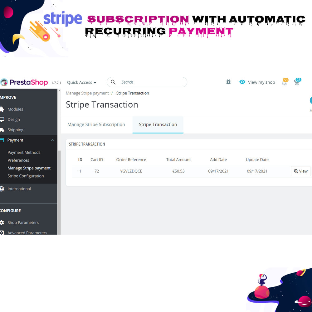 module - Inne środki płatności - Stripe Subscription with Automatic Recurring Payment - 12