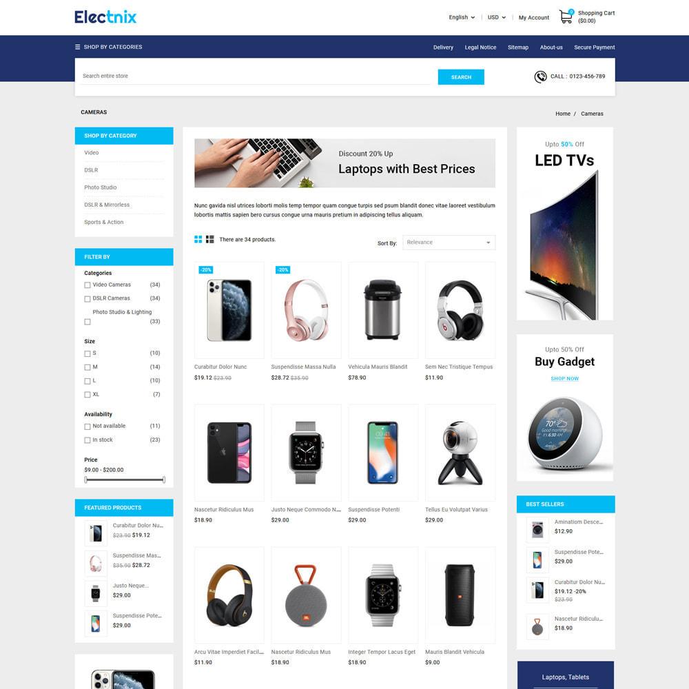 theme - Electronics & Computers - Electnix Electronics Store - 3
