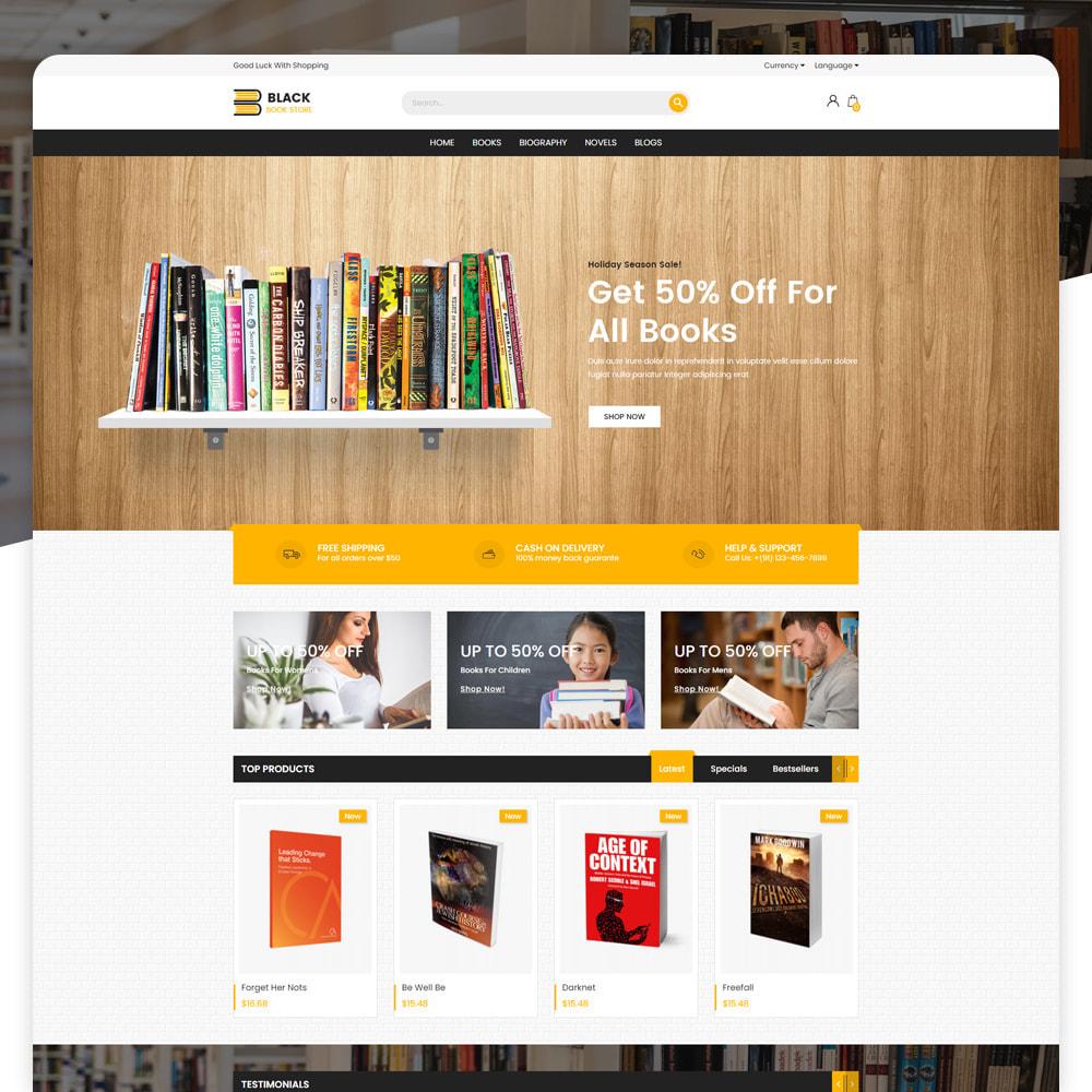 theme - Art & Culture - Book Store - 4