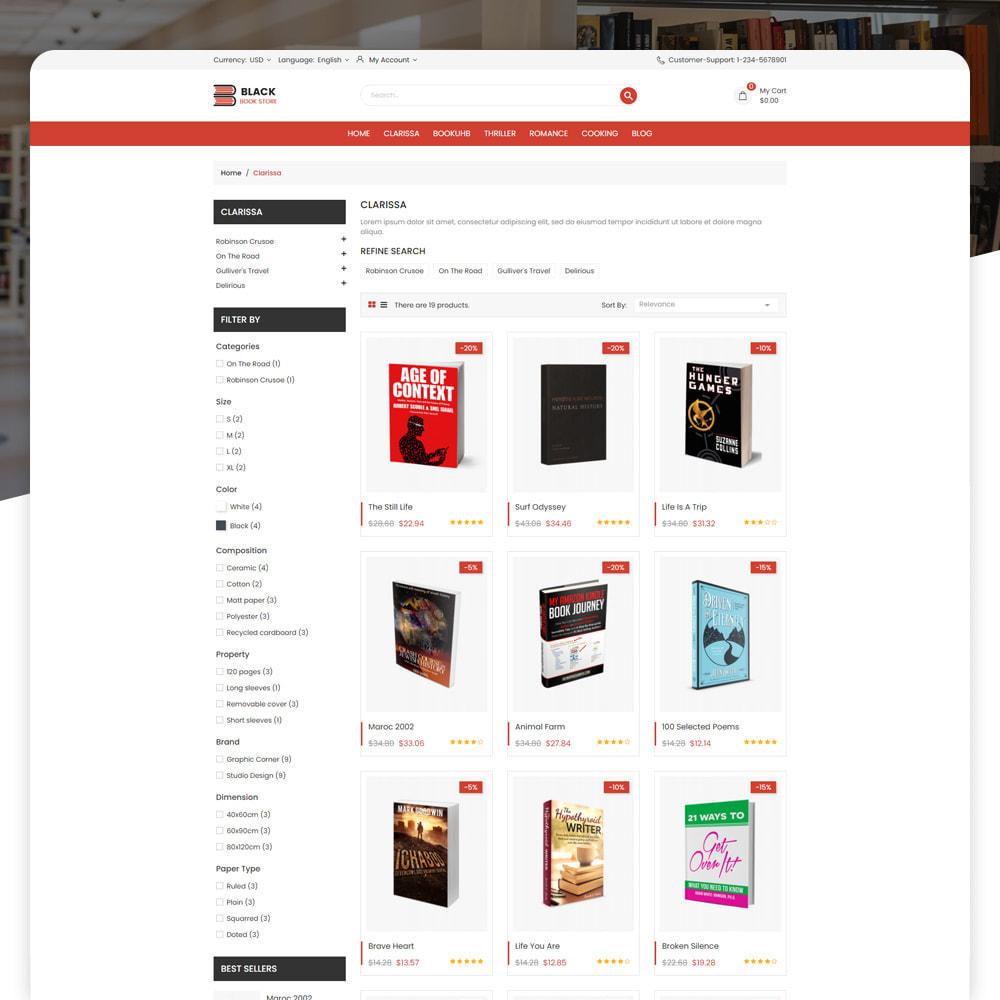 theme - Art & Culture - Book Store - 5