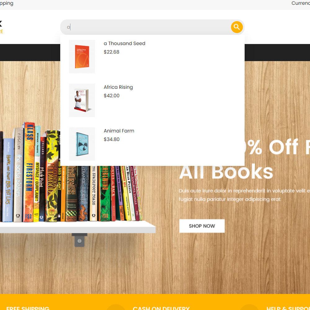 theme - Art & Culture - Livre Store - 9