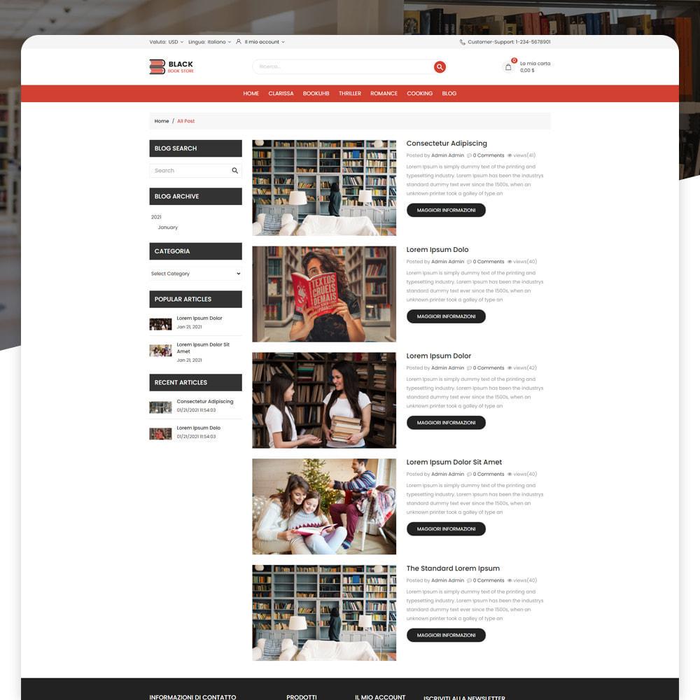 theme - Arte & Cultura - Libro Store - 5