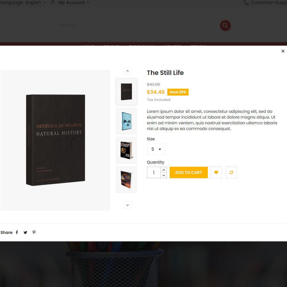 theme - Arte & Cultura - Libro Store - 8