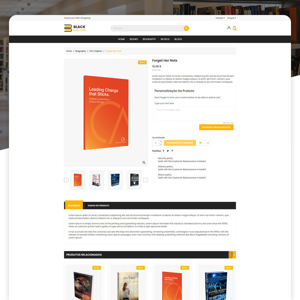 theme - Arte e Cultura - Livro Loja - 4
