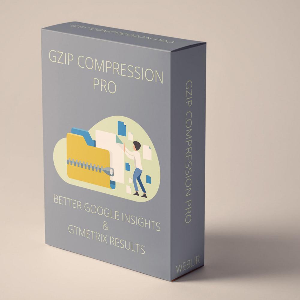 module - Website Performance - GZIP Compression PRO for Google Insights, GTmetrix - 1