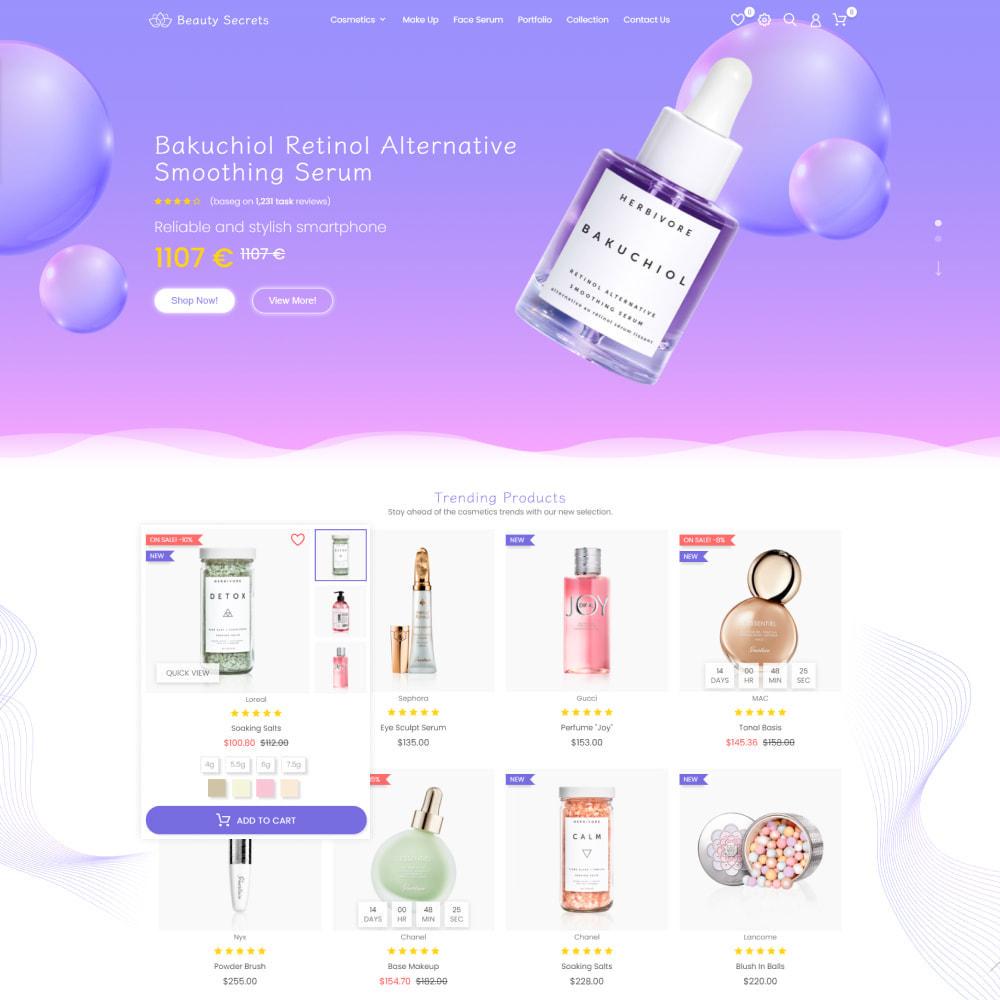 theme - Gesundheit & Schönheit - Beauty Secret - Health & Cosmetics, Medicine, Drug, Art - 2