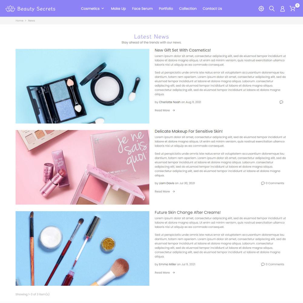 theme - Gesundheit & Schönheit - Beauty Secret - Health & Cosmetics, Medicine, Drug, Art - 8