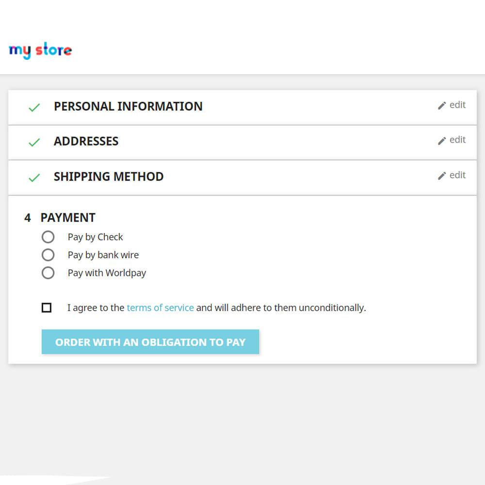 module - Płatność kartą lub Płatność Wallet - Metoda płatności Worldpay - 2