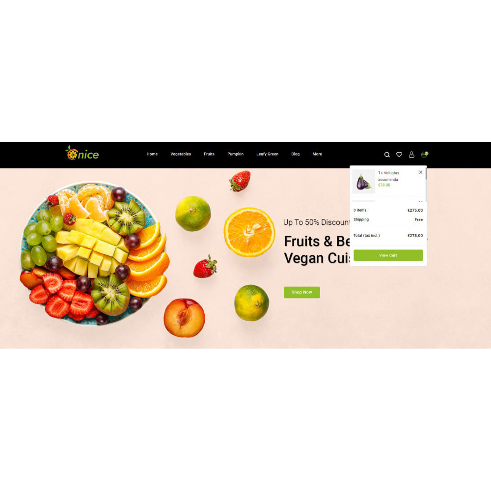 theme - Food & Restaurant - Onice - Fruits & Vegetables Store - 7