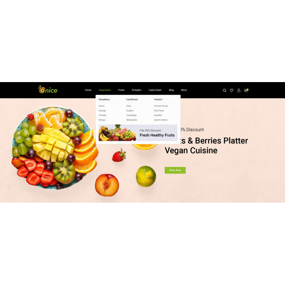 theme - Food & Restaurant - Onice - Fruits & Vegetables Store - 8