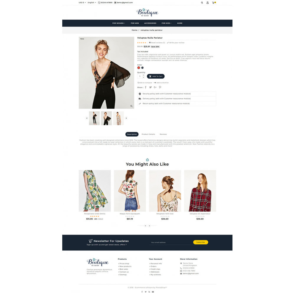 theme - Mode & Chaussures - Boutique - Fashion & Style - 6