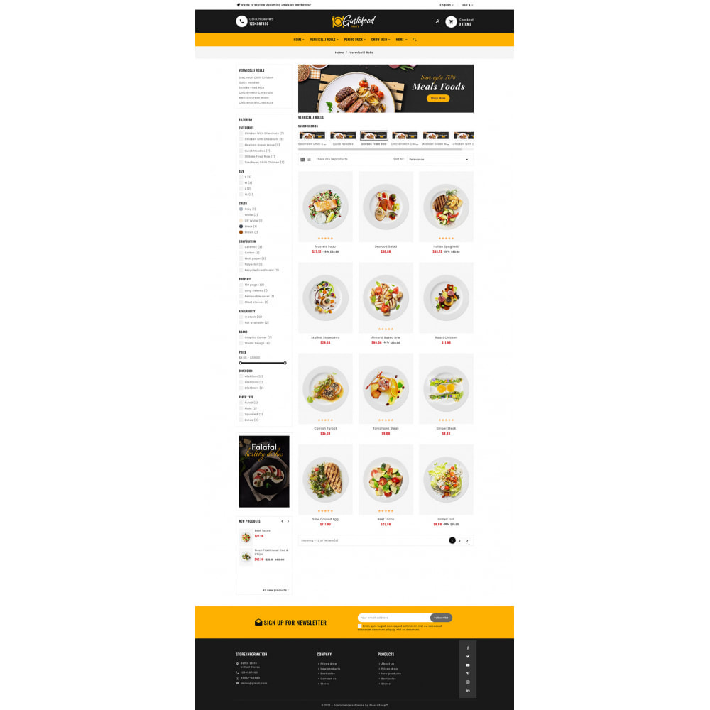theme - Food & Restaurant - Gusto Food & Restaurants - 6
