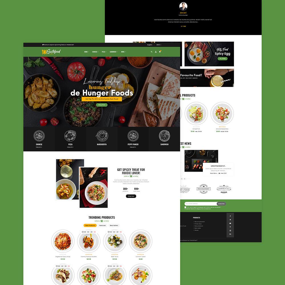 theme - Alimentation & Restauration - Gusto Food & Restaurants - 4